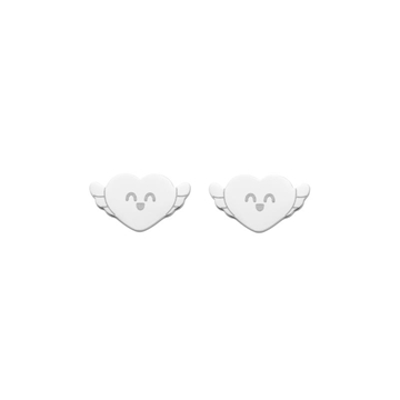 Foto de WONDERFUL LOVE YOURSELF/ STUD EARRINGS/ SILVER