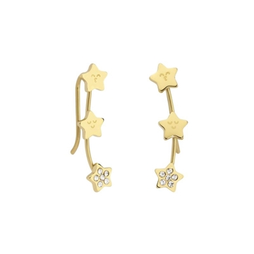 Foto de WONDERFUL SPARKLING/ EAR CUFF EARRINGS/ GOLD