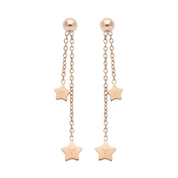 Foto de WONDERFUL SPARKLING/ LONG EARRINGS/ ROSEGOLD