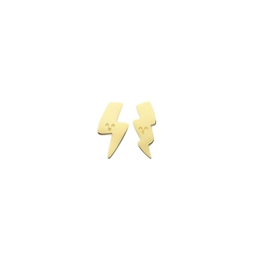 Foto de WONDERFUL POWER/ STUD EARRINGS/ GOLD
