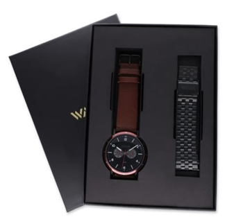 Foto de Pack relojes Watx Spell Darkbrown&black