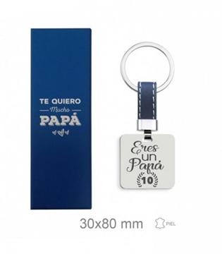Foto de Llavero de acero - papá -