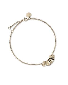 Foto de Rj liquid waved charm bracelet gold