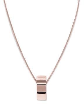 Foto de RJ wave charm necklace rosegold