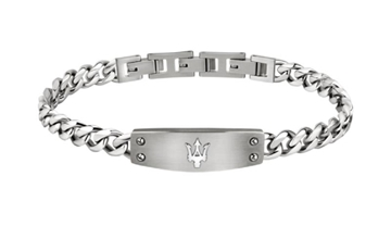 Foto de JS BRACALET SS TAG WITH MASERATI TRIDENT LO